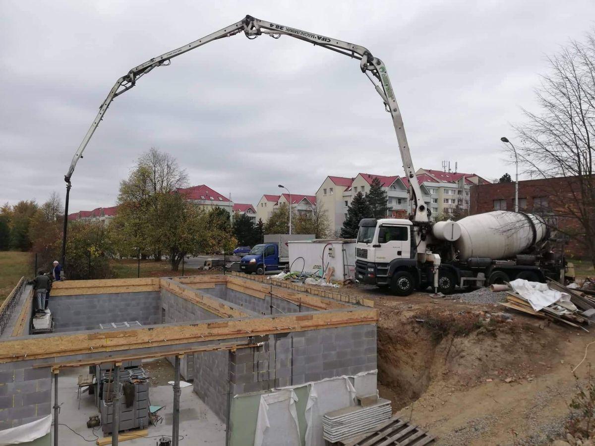 čerpání betonu